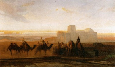 Alexandre Gabriel Decamps The Caravan