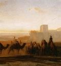 Alexandre Gabriel Decamps The Caravan