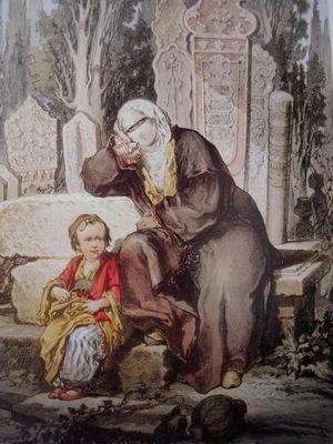 Amedeo Preziosi A Woman And Her Child