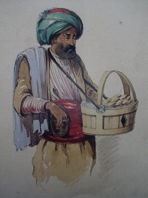 Amedeo Preziosi Cookie Seller