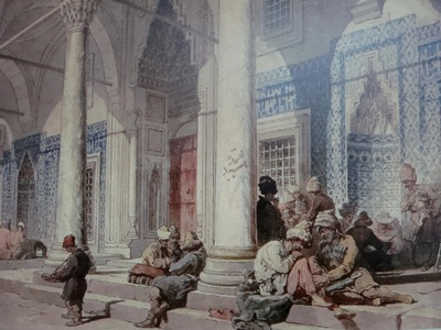 Amedeo Preziosi Entrance Of The Mosque