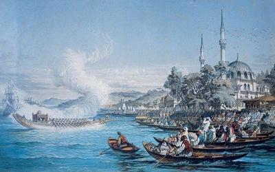 Amedeo Preziosi Istanbul Boats