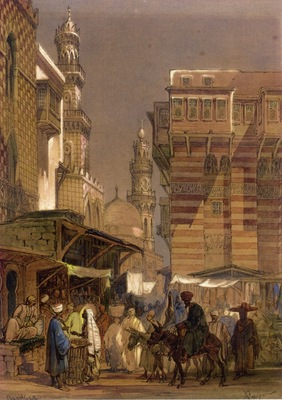 Amedeo Preziosi Old Cairo
