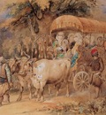 Amedeo Preziosi Arabian Ox Cart
