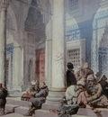 Amedeo Preziosi Entrance Of The Mosque