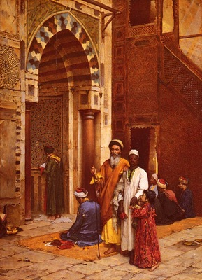 Arthur Ferraris L Aveugle A La Mosquee