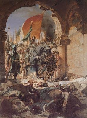 Benjamin Jean Joseph Constant The Entry Of Mahomet II Into Constantinople