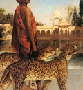 Benjamin Jean Joseph Constant The Palace Guard With Two Leopards