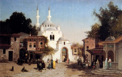 Brest Germain Fabius Outside The Mosque