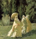 Cesare Biseo The Favorites From The Harem In The Park