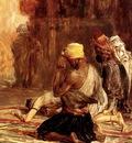Charles Barque Priere Dans La Mosquee