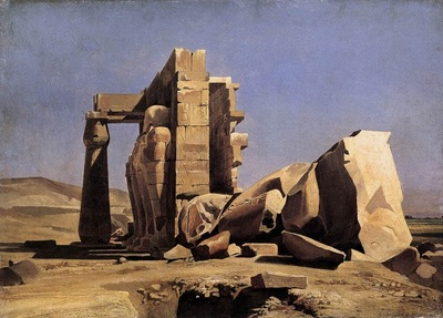 Charles Gleyre Egyptian Temple