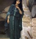 Charles Landelle Algerian Girl