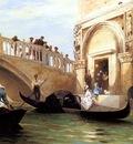 Claude Mouchot Louis Le Depart Pour La Promenade A Venise