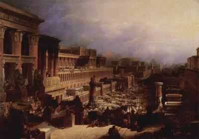 David Roberts Departure Of The Israelites