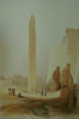 David Roberts Obelisk At Luxor