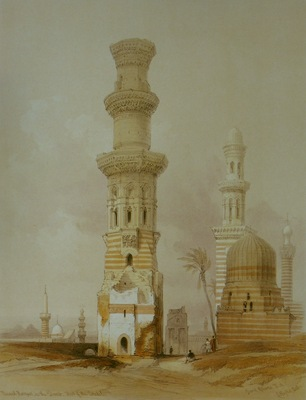 David Roberts Ruined Mosques