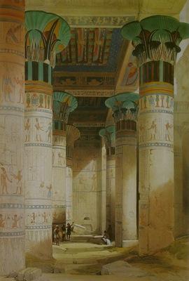 David Roberts Temple Of Isis