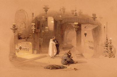 David Roberts The Shrine Of The Holy Nativity