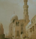David Roberts Mosque Of The Sultan Kaitbey