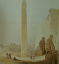 David Roberts Obelisk At Luxor
