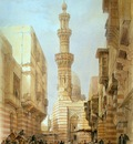 David Roberts Principal Mosque At Boulak