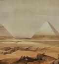 David Roberts Pyramids Of Geezeh
