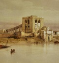 David Roberts The Aqueduct Of The Nile