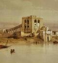David Roberts The Aqueduct Of The Nile