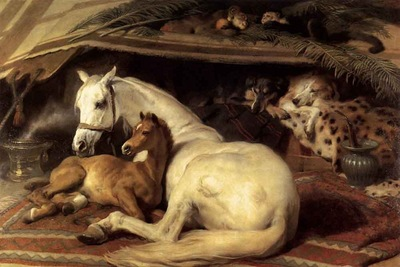 Edwin Henry Landseer The Arab Tent