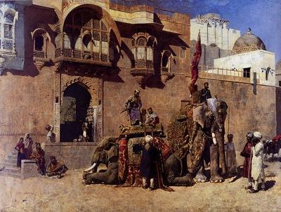 Edwin Lord Weeks A Rajah Of Jodhpur