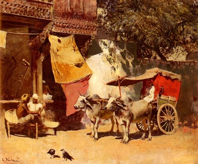 Edwin Lord Weeks An Indian Gharry