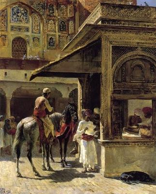 Edwin Lord Weeks Hindu Merchants