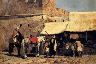 Edwin Lord Weeks In Tangiers