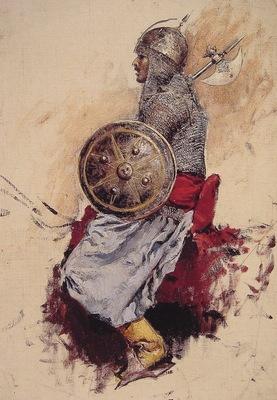 Edwin Lord Weeks Man in Armour
