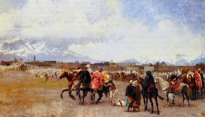 Edwin Lord Weeks Powder Play