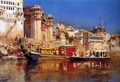 Edwin Lord Weeks The Barge Of The Maharaja Of Benares