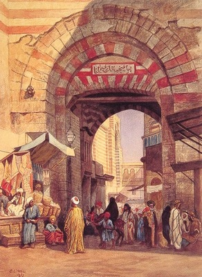 Edwin Lord Weeks The Moorish Bazaar
