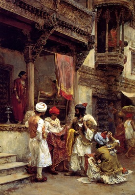 Edwin Lord Weeks The Silk Merchants