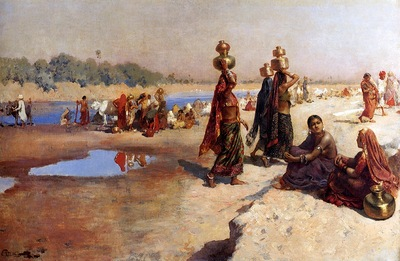 Edwin Lord Weeks Water Carriers Of The Ganges