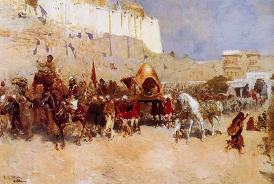 Edwin Lord Weeks Wedding Procession In Jodhpur