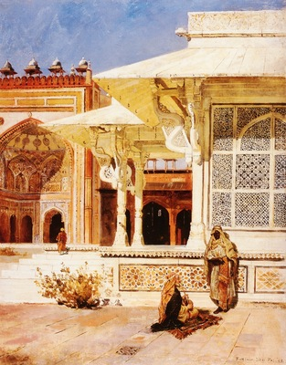 Edwin Lord Weeks White Marble Tomb At Suittitor Skiri