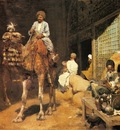 Edwin Lord Weeks A Marketplace In Ispahan