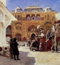 Edwin Lord Weeks Arrival Of Prince Humbert The Rajah At The Palace Of Amber