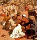 Edwin Lord Weeks Indian Barbers In Saharanpore