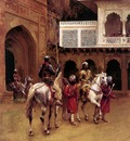 Edwin Lord Weeks Indian Prince Palace Of Agra