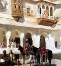 Edwin Lord Weeks Leaving For The Hunt