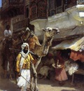 Edwin Lord Weeks Man Leading A Camel