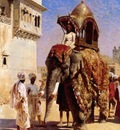 Edwin Lord Weeks Moguls Elephant