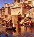 Edwin Lord Weeks On The River Benares